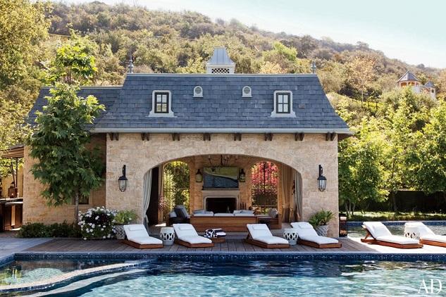 Celebrity homes: Gisele Bündchen and Tom Brady's Los Angeles home