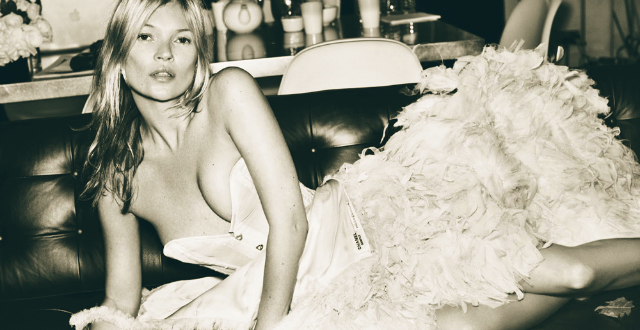 Kate Moss by Mario Testino | Celebrity of the day