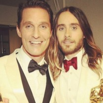 Funniest celebrity moments at 2014 Oscars night  Funniest celebrity moments at 2014 Oscar's night Funniest celebrity moments at 2014 Oscars night Matthew McConaughey and Jared Leto 209x209