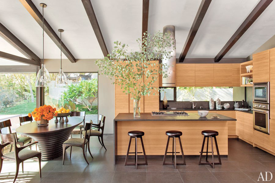 Celebrity Kitchens - Inside celebrity homes | John Legend Kitchen