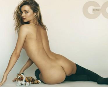 Miranda Kerr Gets Naked for British magazine GQ