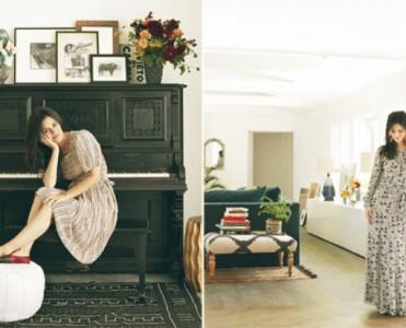 Rachel Bilson's LA Mansion by Kishani Perera  Rachel Bilson's LA Mansion by Kishani Perera Rachel Bilson and Hayden Christensens Mansion LA Home 8 371x300