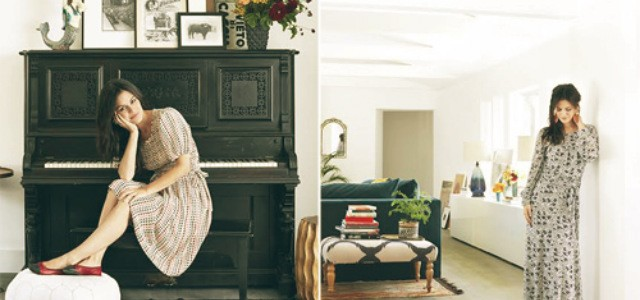 Rachel Bilson's LA Mansion by Kishani Perera