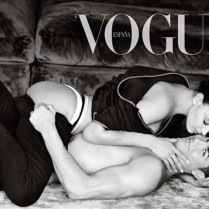 Cristiano Ronaldo and Irina Shayk Vogue Cover Spain 2014  Celebrity Vogue Covers celebrity vogue covers cristiano ronaldo irina shayk 2 209x209