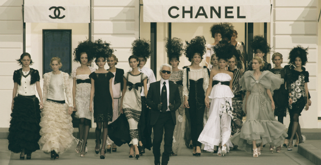 Karl Lagerfeld — the face behind Chanel  Karl Lagerfeld — the face behind Chanel Karl Lagerfeld the face behind Chanel