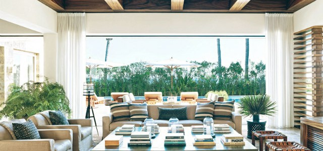 Inside Celebrity Homes - Best 10 Celebrity Living Rooms  Best 10 Celebrity Living Rooms celebrity living room ideas george clooney 640x300