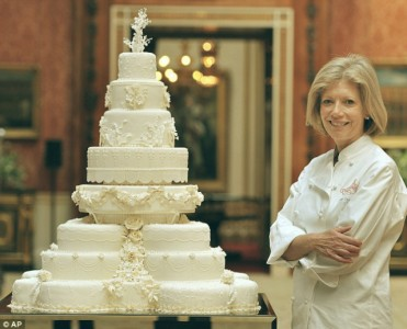 Celebrity wedding cakes  Most expensive celebrity weeding cakes celebrity homes wedding cakes kate 371x300