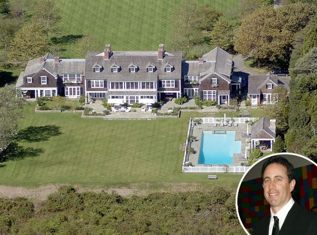 CELEBRITY HOMES IN THE HAMPTONS - TOP 12   Celebrity Homes