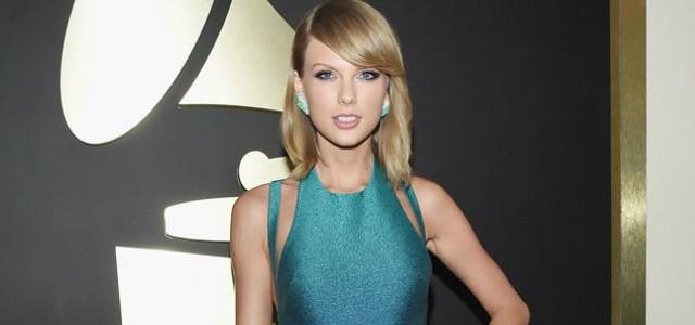 Celebrity Gossip Grammys Red Carpet_Taylor-Swift