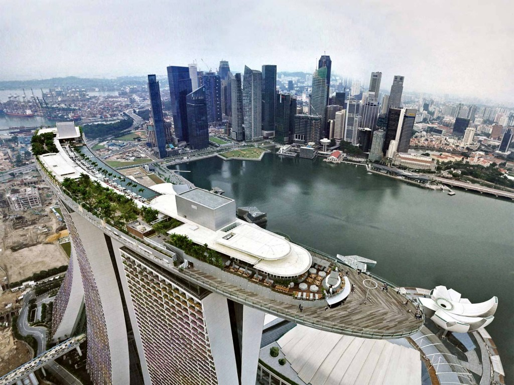 Celebrity Hotels Outstanding Marina Bay Sands Singapore