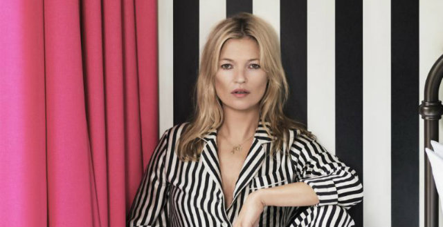Celebrity News Kate Moss, the interior designer