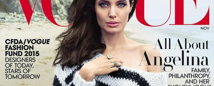 Celebrity News Anjelina Jolie by the sea (1)