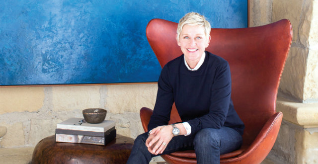 Celebrity News Ellen DeGeneres Interior Design Book