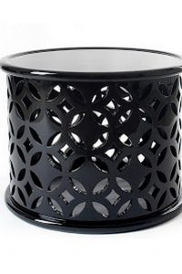 Amar'e and Alexis Florida Home Celebrity Homes: Tour Inside Amar'e and Alexis Florida Home stone side table side table coffee table boca do lobo 200x300