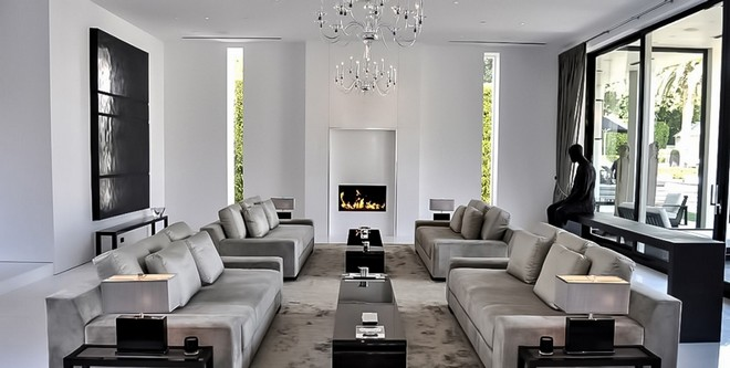 Home in Beverly Hills (9) simon cowell home Celebrity Homes: Simon Cowell Home in Beverly Hills Home in Beverly Hills 9