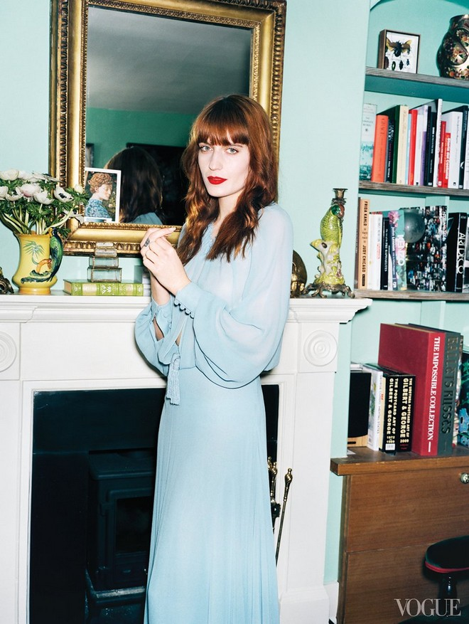 Inside Celebrity Homes: Florence Welch's London Home