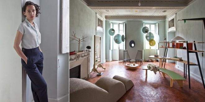 Inside Furniture Designer Stéphanie Marin's French Apartment