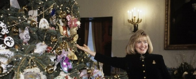 Celebrity Homes: Christmas at White House Through the Years