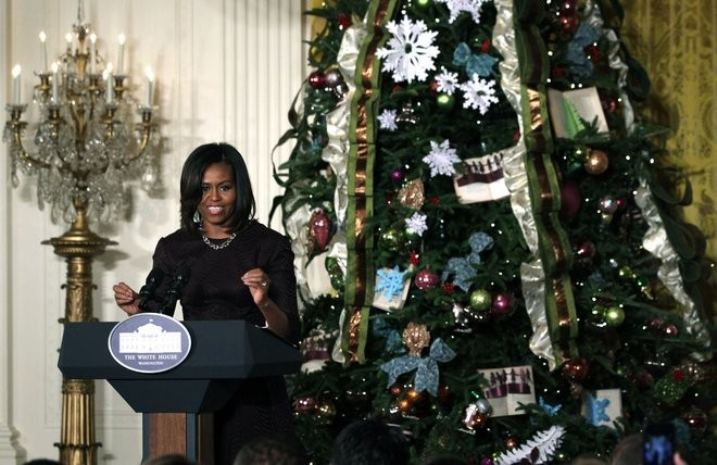 22 christmas at white house Celebrity Homes: Christmas at White House Through the Years 22
