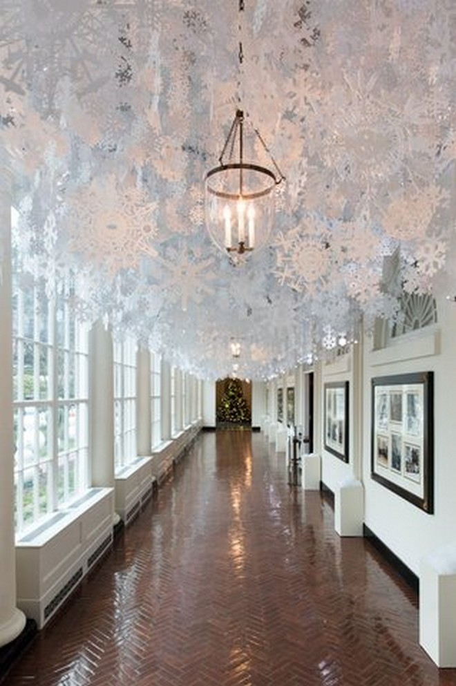 Celebrity Homes White House Christmas Decorations You