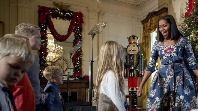 Astonishing White House Holiday Decorations 2016