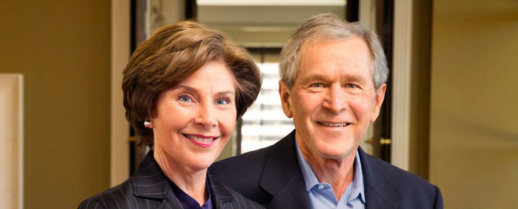 Celebrity Homes: Laura and George W. Bush's Texas Country House Laura and George W Bush Celebrity Homes: Laura and George W Bush's Texas Country House Celebrity Homes Laura and George W