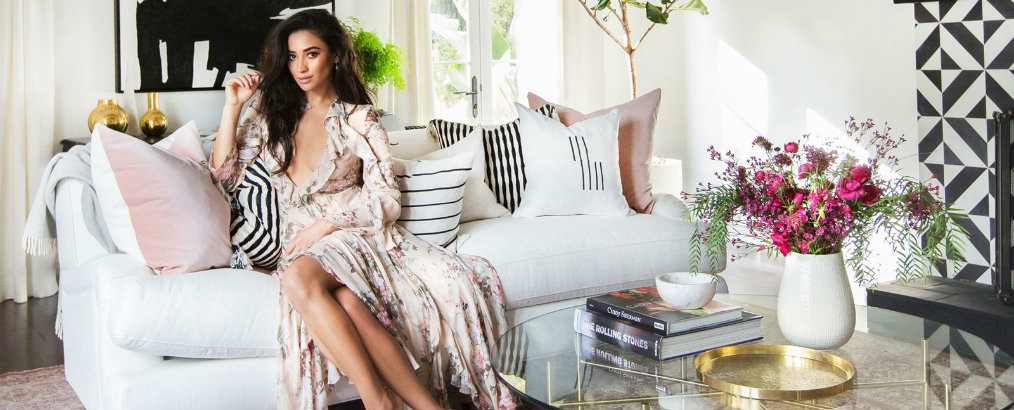 Inside Celebrity Homes Shay Mitchell's Beautiful LA Home