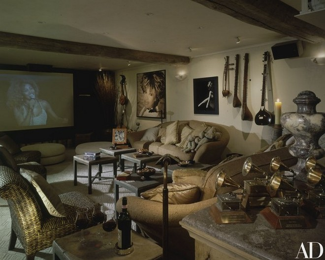 Inside Celebrity Homes Inside Celebrity Homes: Tina Turner French Villa Inside Celebrity Homes Tina Turner French Villa 6