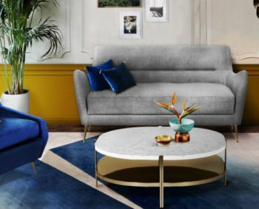Celebrity Homes: 50 Celebrity Inspired Living Rooms