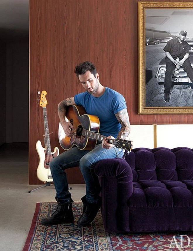 Adam Levine's Home Celebrity Homes: Midcentury Vibes at Adam Levine's Home in California Celebrity Homes Midcentury Vibes at Adam Levines Home in California 1