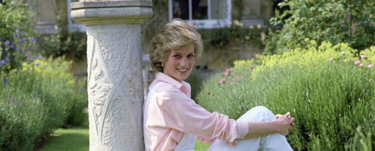 Inside Celebrity Homes Princess Diana At Home