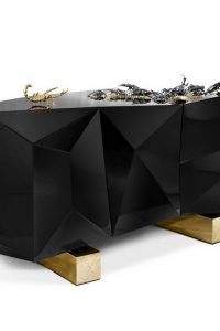 Home Weddings 7 Celebrity that Chose Home Weddings diamond sideboard buffet cabinet bocado lobo metamorphosis 200x300