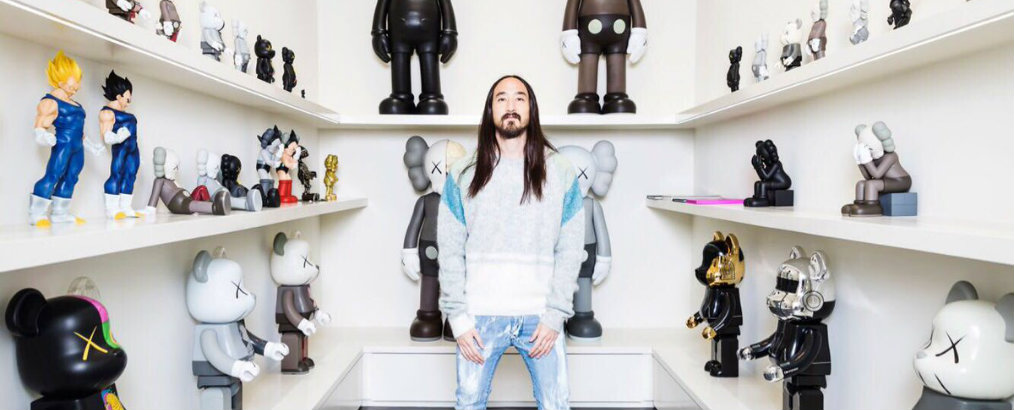 Inside Steve Aoki Home is Like Modern Art Gallery 1