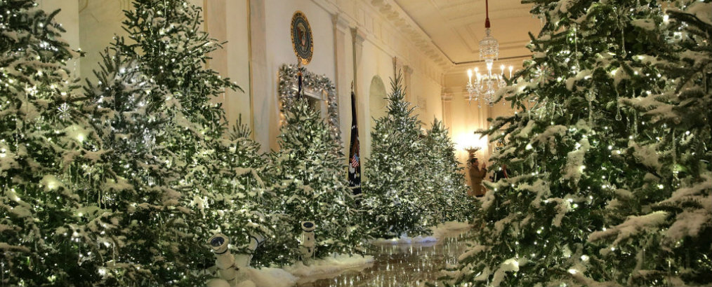 Discover White House Christmas 2017 Decorations