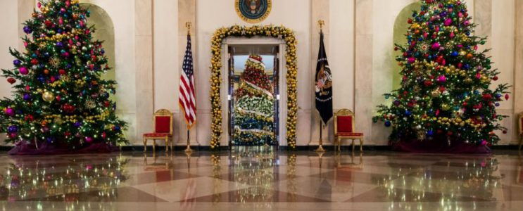 Look Back at the Most Incredible White House's Christmas Decorations