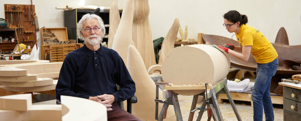 Inside Wendell Castle's Studio