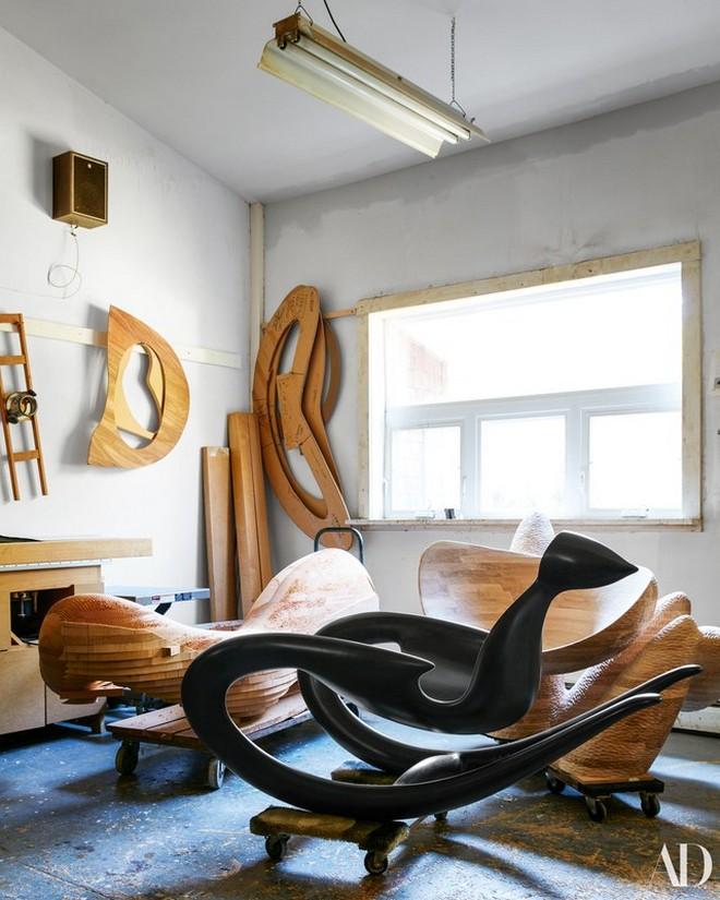 Inside Wendell Castle's Studio (1) Wendell Castle's Studio Inside Wendell Castle's Studio Inside Wendell Castle   s Studio 16