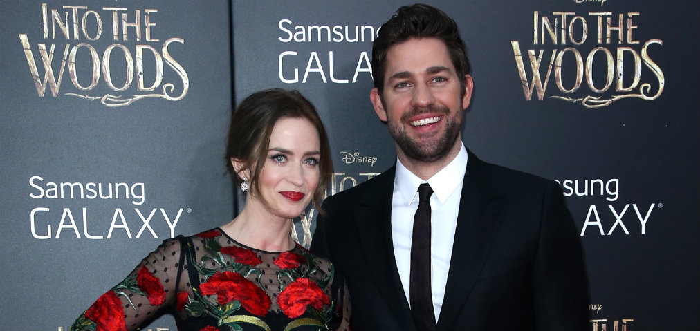 Emily Blunt and John Krasinski Emily Blunt and John Krasinski Huge Four-Story Mansion in Brooklyn NYC Emily Blunt and John Krasinski Huge Four Story Mansion in Brooklyn NYC