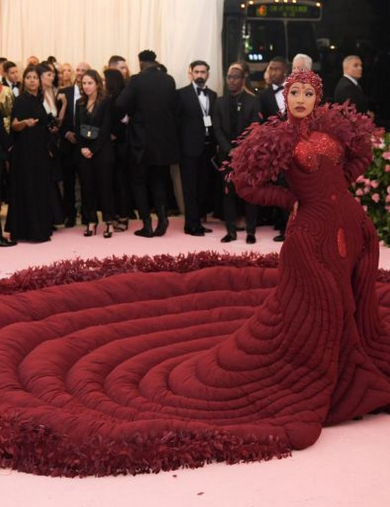 Best of camp-themed Met Gala 2019 met gala 2019 red carpet cardib 26 1