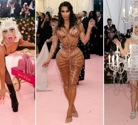 Best of camp-themed Met Gala 2019 vip pt 38981 noticia met gala 2019 os looks e extravagancias dos candelabros perucas de missangas 450x410