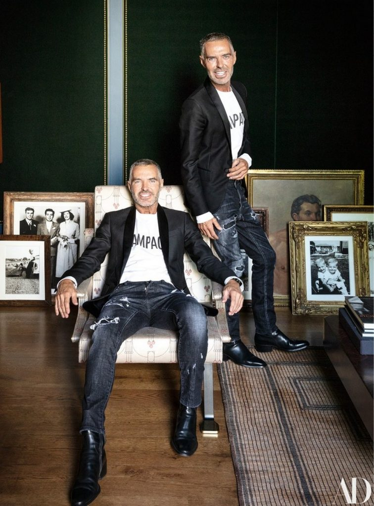 Fashion Stars Dean and Dan Caten London Townhouse by Dimore Studio Fashion Stars Dean and Dan Caten London Townhouse by Dimore Studio 2