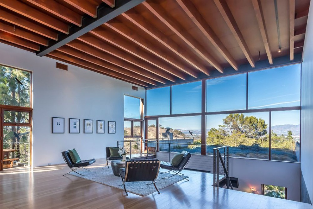 Kathryn Bigelow Lists Modern Mansion in Beverly Hills Kathryn Bigelow Lists Modern Mansion in Beverly Hills 4