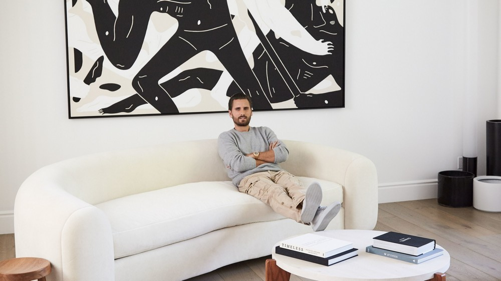 scott disick Midcentury Interiors in Scott Disick's Hidden Hills Home Midcentury Interiors in Scott Disick   s Hidden Hills Home 9