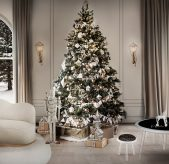 How to Decorate for Christmas Like a Celebrity how to decorate for christmas How to Decorate for Christmas Like a Celebrity xmas full 169x164