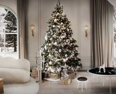 How to Decorate for Christmas Like a Celebrity how to decorate for christmas How to Decorate for Christmas Like a Celebrity xmas full 371x300