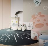 Luxury Kids Bedroom Ideas: Space Collection Rugs luxury kids bedroom Luxury Kids Bedroom Ideas: Space Collection Rugs AMBIENTE CIRCU RUG 5 2 1 169x164
