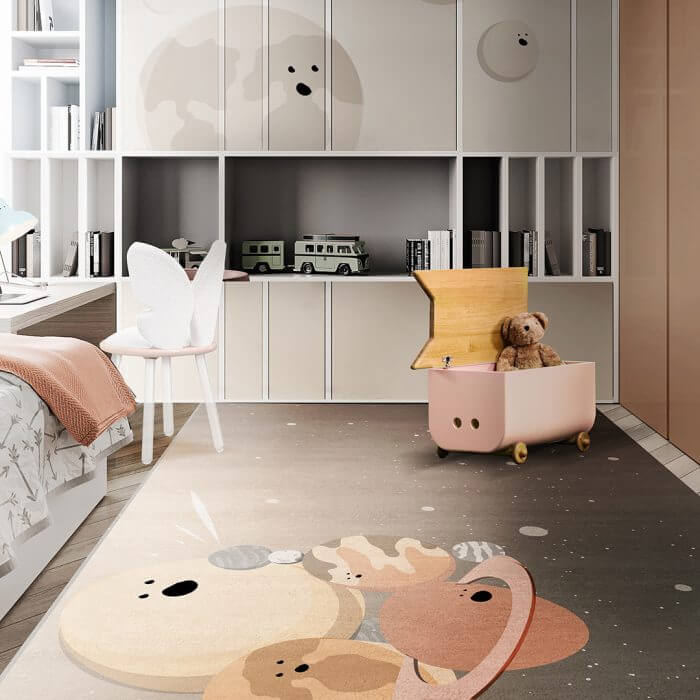 Luxury Kids Bedroom Ideas: Space Collection Rugs luxury kids bedroom Luxury Kids Bedroom Ideas: Space Collection Rugs AMBIENTE CIRCU RUG 9 2