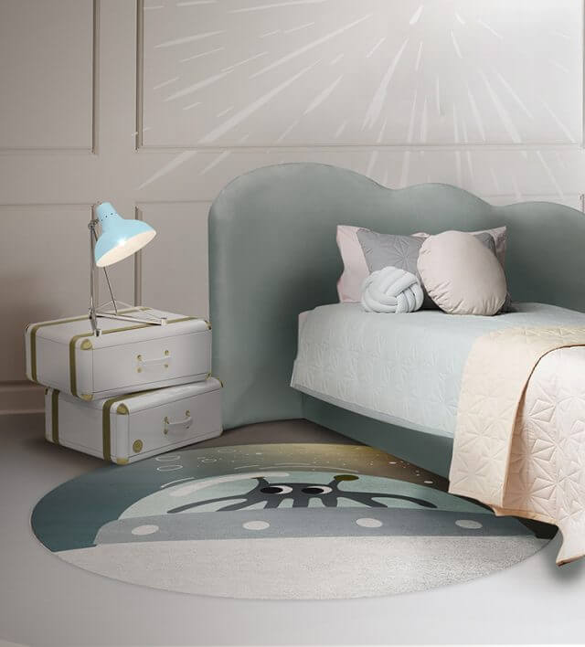 Luxury Kids Bedroom Ideas: Space Collection Rugs luxury kids bedroom Luxury Kids Bedroom Ideas: Space Collection Rugs mr martion round rug circu magical furniture 2 640x708 1
