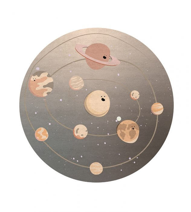 Luxury Kids Bedroom Ideas: Space Collection Rugs luxury kids bedroom Luxury Kids Bedroom Ideas: Space Collection Rugs solar system rug circu magical furniture 1