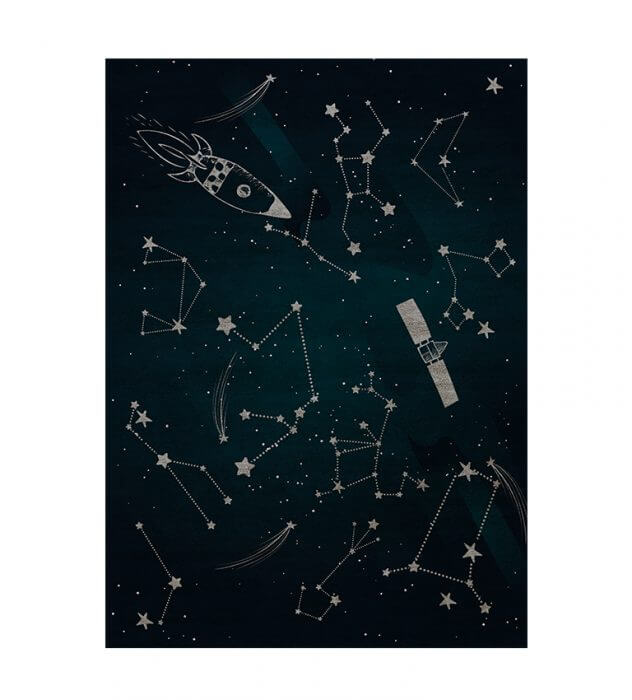 Luxury Kids Bedroom Ideas: Space Collection Rugs luxury kids bedroom Luxury Kids Bedroom Ideas: Space Collection Rugs stellar rug circu magical furniture 1